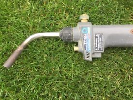 TX504Turbo Torch and full Map gas bottle