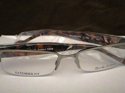 Randy Jackson 1040 eyeglasses frame NEW NIP NIB gunmetal tortoise RJ1040 glasses