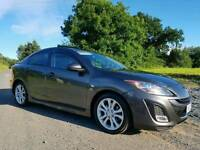 2009 Mazda 3 2.2d Sport 185bhp SAT-NAV, ONLY 71000 MILES! FULL MAZDA SERVICE HISTORY! MOT'D