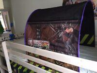 Teenage Mutant Ninja Turtles Tent / Bed Tunnel for Midsleeper Cabin Bed