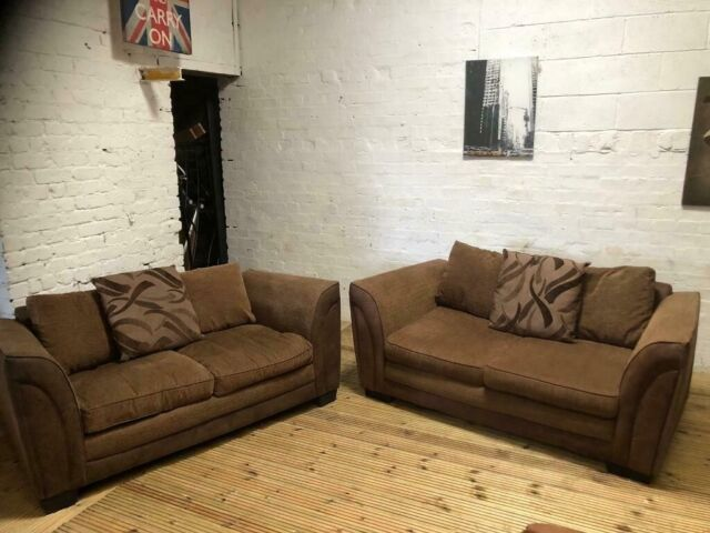 Astounding Fabric Half Suede 3 Piece Sofa Set Real Nice Very Comfy In Eccles Manchester Gumtree Machost Co Dining Chair Design Ideas Machostcouk