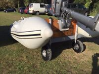 Wetline 265 dinghy and 4hp outboard