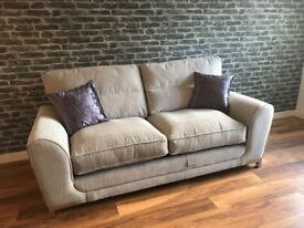 SCS Fabric 3 Seater Sofa for sale