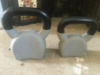 6kg & 10kg Cast Iron & Rubber Kettlebells (Women's Health)