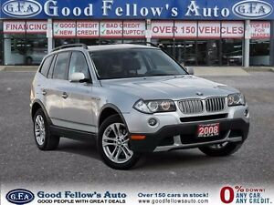 2008 BMW X3 LEATHER, SUNROOF