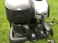 Murphy Richards electric coffee machine