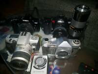 Joblot vintage camera Minolta and other