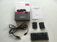 Boxed GAMEware Xbox One Dual Controller Charge Station & Battery Packs