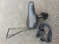 Front-mounted bike seat