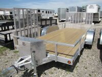 2015 Mission Trailers 16ft Aluminum ATV Trailer