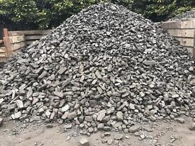 Coal and logs