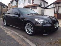 2006 BMW 525D M SPORT AUTOMATIC BLACK EXCELLENT CONDITION HPI CLEAR