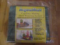 AQUAMAT CAPILLARY MATTING PLANT WATERING SYSTEM