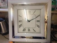 Beautiful mirror clock
