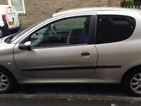 Peugeot 206 for sale.