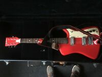 AIRLINE BIGHORN Electric Guitar with EASTWOOD GUITARS Case