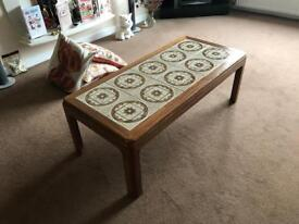 G-Plan Two Wooden and 10 Tile Coffee Tables