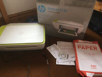 colour Printer scanner copy 3in1 HP 2132 -just 1 day old