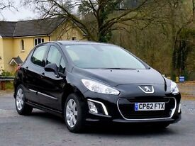 (Reduced) 2013 62 Peugeot 308 1.6 HDi Active, New MOT & service, Aircon, One Local Owner