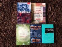 X5 Socialwork books