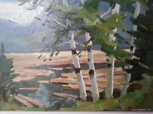Tom Roberts A.R.C.A. O.S.A. Famous Canadian Artist Oil Paintings