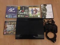 PS3 and four games