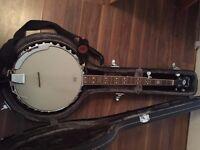 Fender Banjo + Case (hardly played)