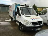 Mercedes sprinter lwb chiller fridge freezer pickup x4