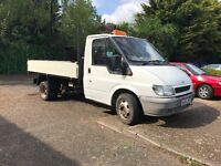 Ford Transit 2.4 T350 MWB Tipper RWD Twin-Wheel with Tow Bar