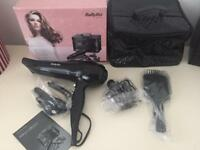 Babyliss styling collection brand new in box hairdryer 2200w black