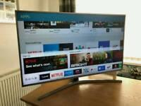 49in Samsung 4K HDR UHD Smart LED TV WI-FI Freeview HD FreeSat HD Warranty
