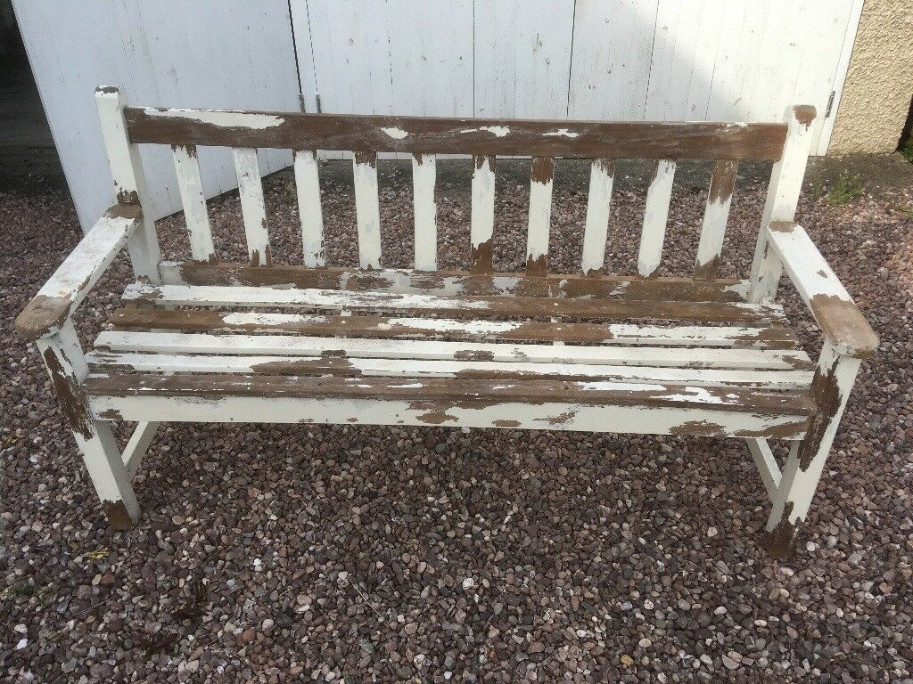 Superb Wooden Garden Bench In Tarporley Cheshire Gumtree Andrewgaddart Wooden Chair Designs For Living Room Andrewgaddartcom