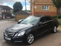 FOR SALE 2012 MERCEDES E220 CDI 7G-TRONIC FULL MERCEDES SERVICE HISTORY
