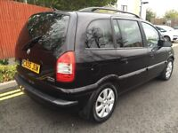 2005 Vauxhall Zafira MPV 2.0 DTi 16v Breeze MPV 5dr SOLID DIESEL ENGINES IDEAL FAMILY CAR 7 SEATER