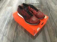 Nike Flyknit Racer university Red Size 10