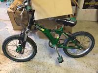 """Raleigh Boys' Bike 16"""" wheels, Suit age 4-6 years £30"""