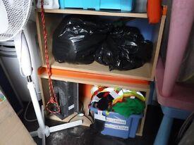 Children's Wooden Bench/Storage Block x2 FREE