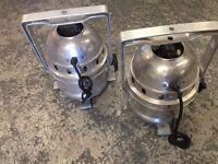 PAR64 par cans - polished x 2