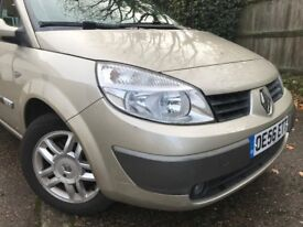 2006 Renault Scenic with leather perfect condition gold citroen vw vauxhall