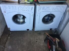 **INDESIT**INTEGRATED WASHING MACHINE**6 KG 1200 SPIN** A+++**COLLECTION\DELIVERY**NO OFFERS**