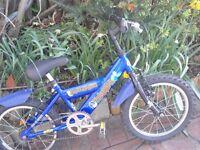 Triumph Scallywag boys bike
