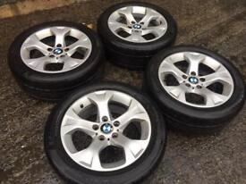 BMW X3 jeep alloy wheels