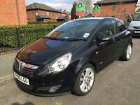 BLACK CORSA 1.4 59000 MILES GOOD CONDITION GREAT FIRST CAR POWER STEERING CENTRAL LOCKING AIR CON