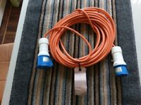 15m long camping electric hook up