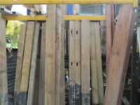 New old stock fence/gate posts-different sizes/prices