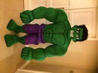 UK SELLER look alike brand new Hulk deluxe Professional Mascot Costume fancy dress