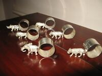 Napkin Servietter Rings Royal African Collection Windsor Silverware - NEW GIFT