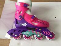 Girls brand new Inline skates size 13j-3