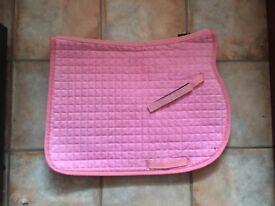 Pink Saddle Pad