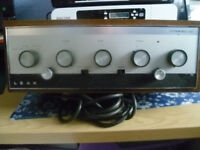 ***Leak's amplifier, bought in 1966/67, good condition, lovely vintage item***